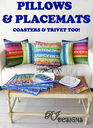 Pillows & Placements Coaster & Trivet too! - RJ Designs preview