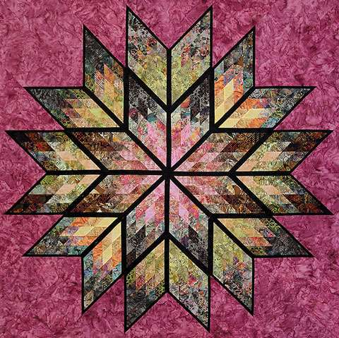 Prismatic Star Pattern by Judy Niemeyer