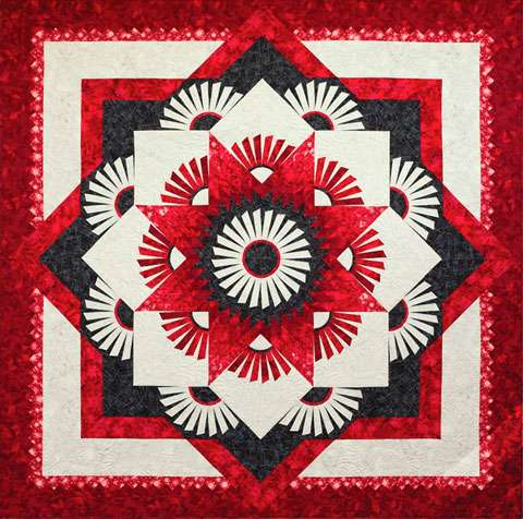Red River Star Pattern by Judy Niemeyer
