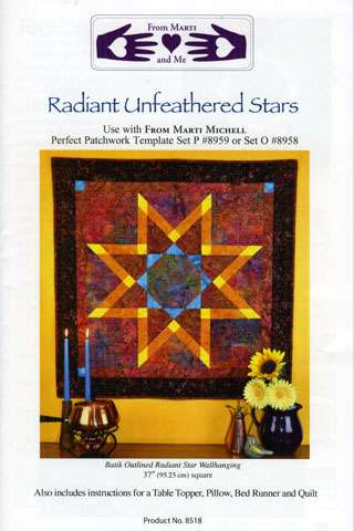 Radiant Unfeathered Stars Pattern by Marti Michell