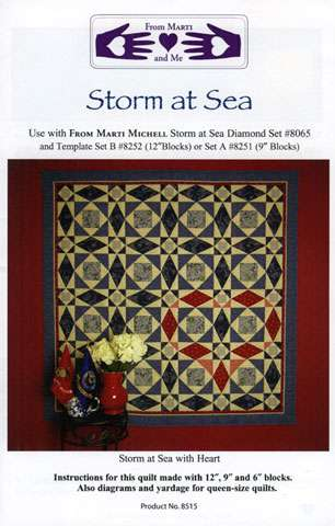 Storm at Sea Pattern by Marti Michell