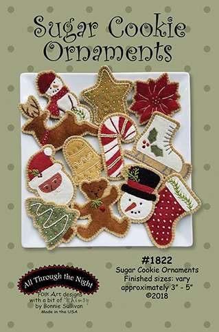 Sugar Cookie Ornaments Pattern by Bonnie Sullivan preview