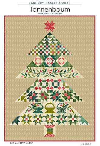 Tannenbaum Pattern by Laundry Basket Quilts preview