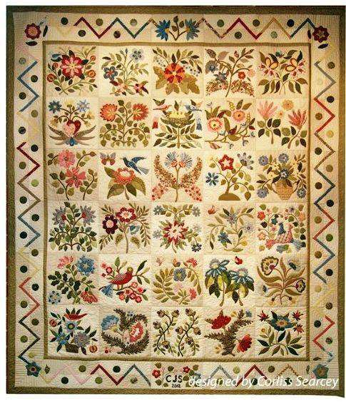 The Caswell Quilt Pattern by Corliss Searcey preview