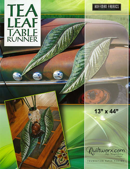 Tea Leaf Table Runner Pattern preview