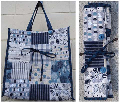 The Super Shopping Bag Pattern by Ngaire Brooks preview