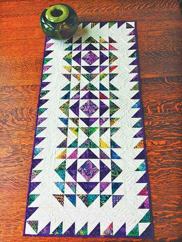 Vortex Table Runner Pattern