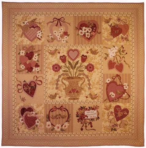 Vintage Valentine Pattern