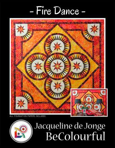 Fire Dance Pattern by Jacqueline de Jonge