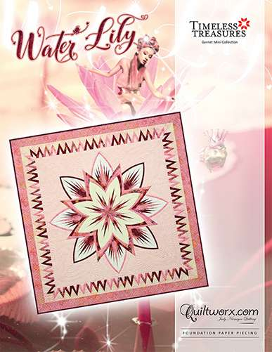 Water Lily Pattern by Judy Niemeyer preview