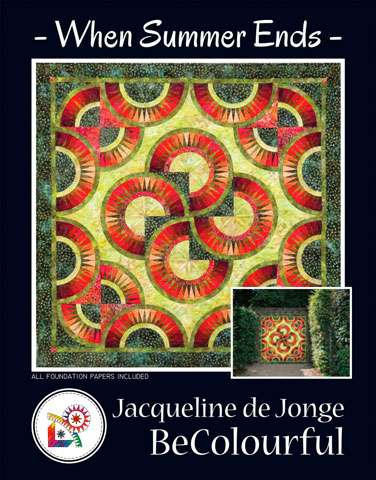 When Summer Ends Pattern by Jacqueline de Jonge