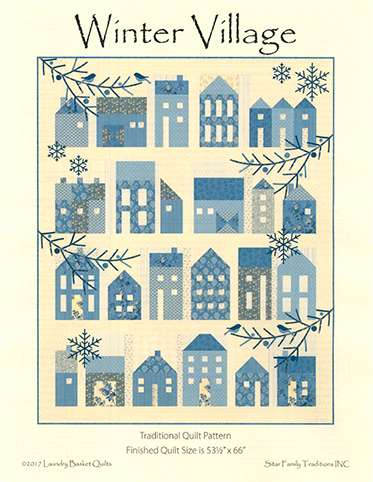 Winter Village Pattern preview