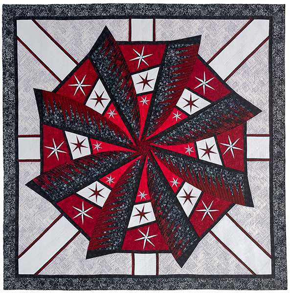 Weathered Windmill Foundation Piecing Pattern by Judy Niemeyer preview