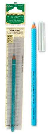 Water Soluble Pencil - Blue
