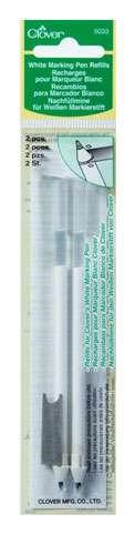 Clover White Marking Pen Refills - Fine (2 per pack)
