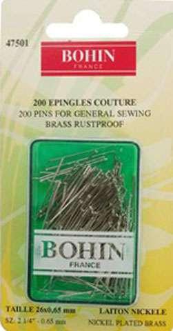 Bohin Pins for General Sewing