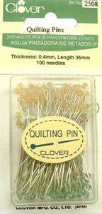 Clover Quilting Pins (100 per pack)