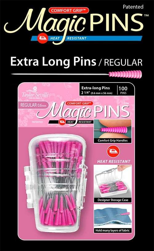 Magic Pins Extra Long Regular 100 pieces preview