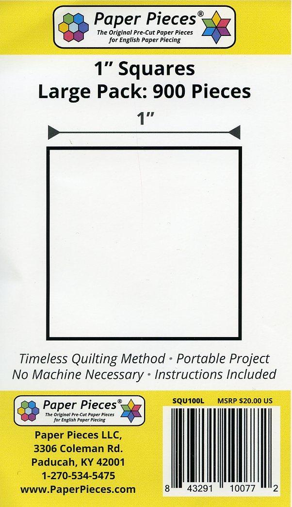 """Paper Pieces - 1"""" Square - 900 Pieces preview"""