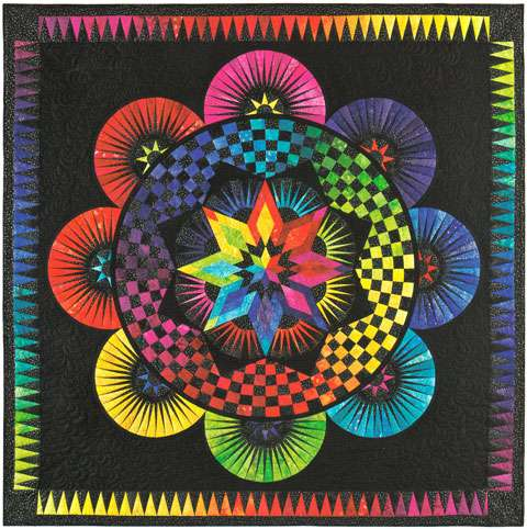 Circle of Life Pattern by Jacqueline de Jonge