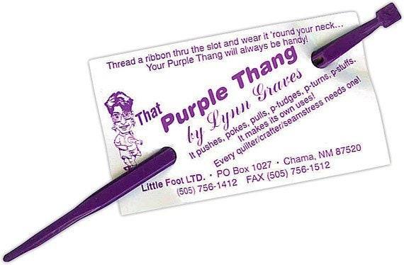 Purple Thang Tool