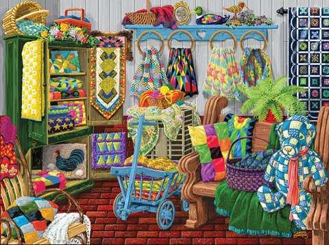 Quilt Fair Puzzle - 1000pc