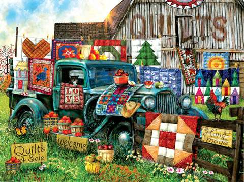 Quilts For Sale Puzzle - 1000pc