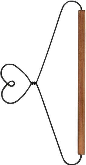 """15cm Quilt Hanger with Dowel """"Heart"""""""