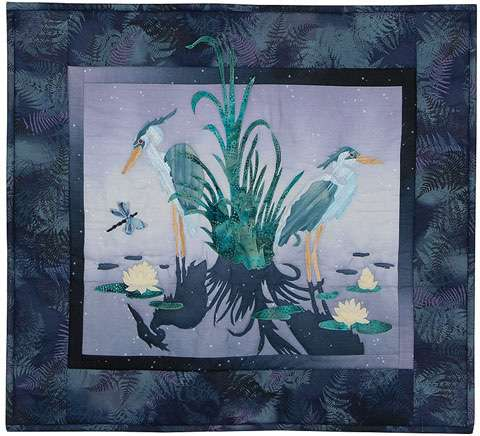 From 'Heron' Out - FINISHED WALL HANGING