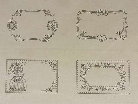 Pre-printed Quilt Labels #2 preview