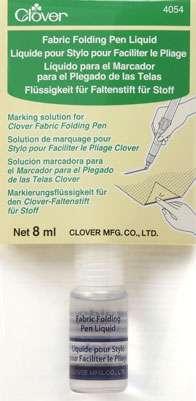 Clover Fabric Folding Pen - Refill Liquid