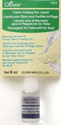 Clover Fabric Folding Pen - Refill Liquid (4054) preview