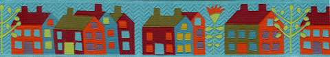 38mm Ribbon - Sue Spargo's Houses