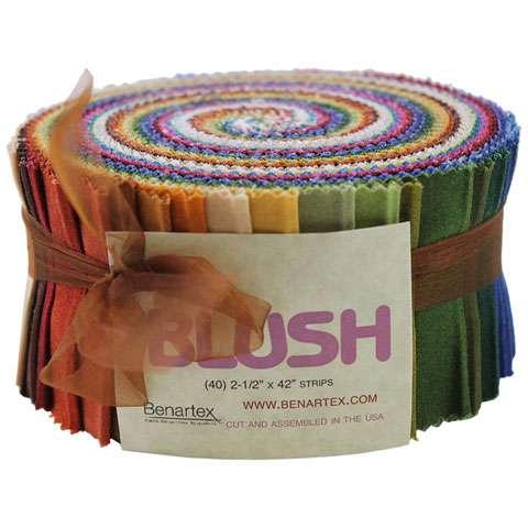 Blush Roll Up by Benartex