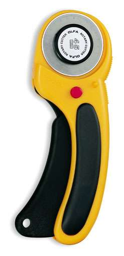 45mm Olfa Deluxe Ergonomic Rotary Cutter