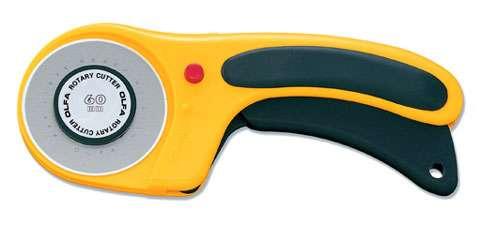 60mm Olfa Rotary Cutter (ergonomic handle)
