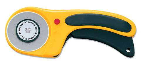 60mm Olfa Rotary Cutter (ergonomic handle)  preview