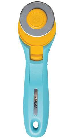 Splash Rotary Cutter 45mm - Aqua Blue