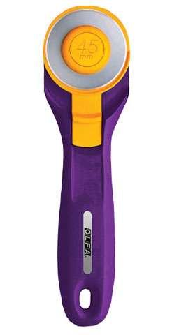 Splash Rotary Cutter 45mm - Emperor Purple