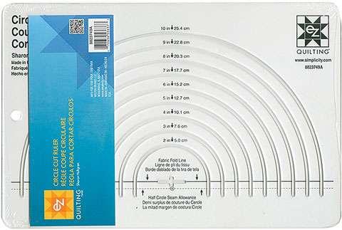"""Circle Cut Ruler 8"""" x 12"""""""
