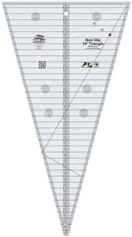 Creative Grids 30 Degree Triangle Ruler CGRSG1