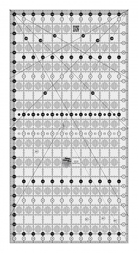 The Big Easy - Creative Grids Quilt Ruler 12-1/2in x 24-1/2in preview