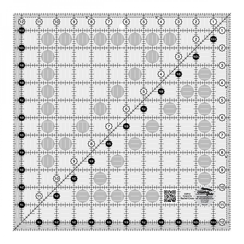 """Creative Grids Ruler 12-1/2"""" x 12-1/2"""" (CGR12) preview"""