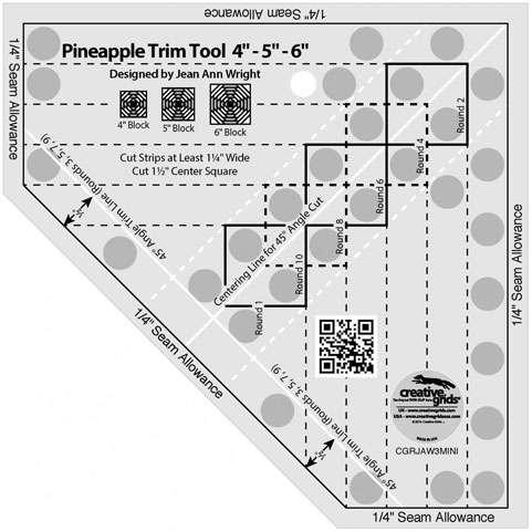 Creative Grids Pineapple Trim Tool Mini