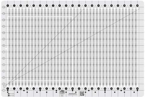 Creative Grids Stripology Ruler CGRGE1