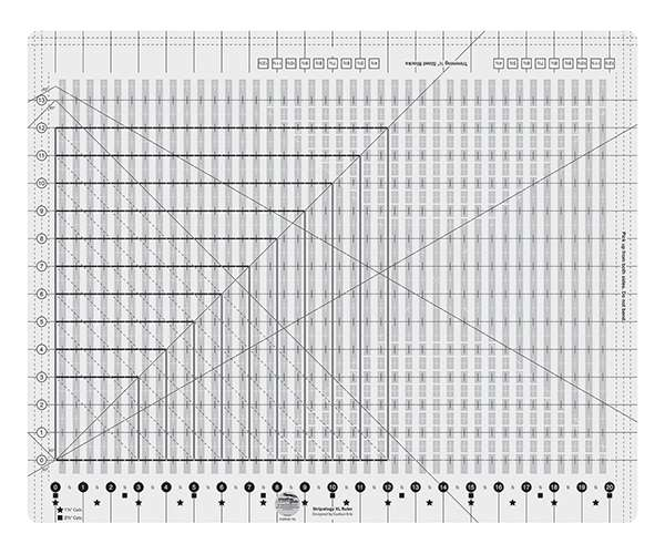 Creative Grids Extra Large Stripology Ruler CGRE1XL preview