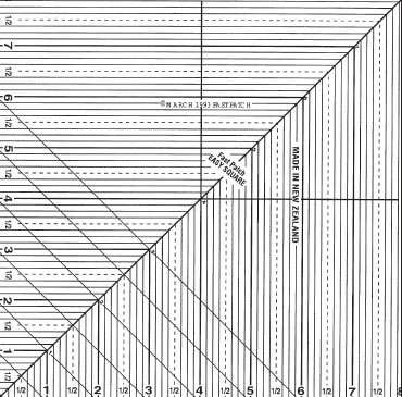 Easy Square Ruler (8 inches) - FastPatch