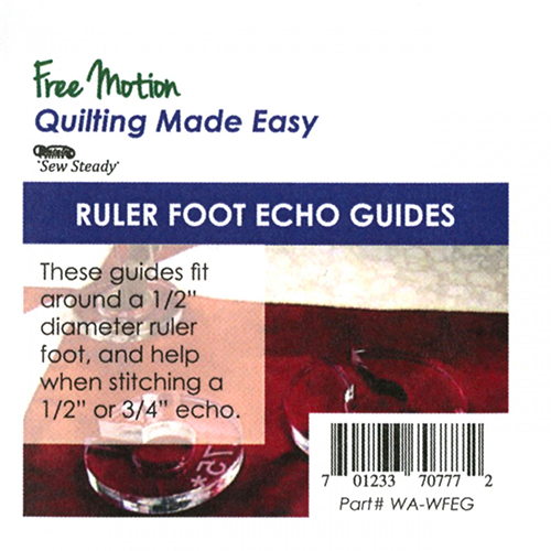 Ruler Foot Echo Guides 3 piece Set Westalee - Sew Steady preview