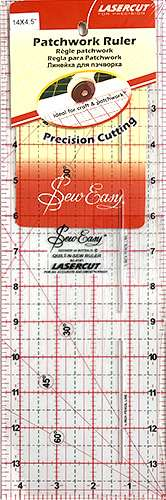 """Sew Easy Patchwork Ruler 14"""" x 4.5"""" preview"""