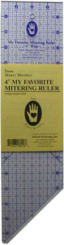 My Favorite Mitering Ruler - 4 inch by Marti Michell preview